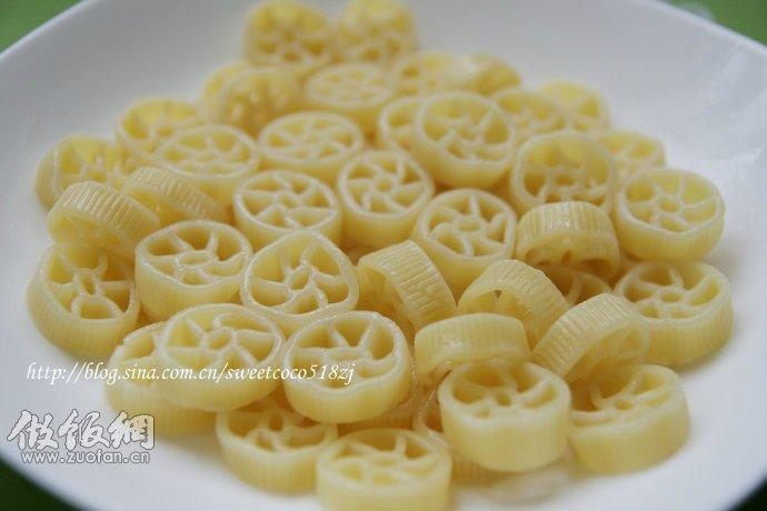 奶酪车轮意面--宝宝牛奶菜(1)