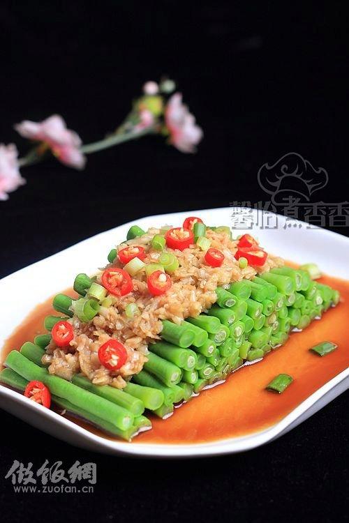 凉菜菜谱大全带图片; 原文地址:夏季吃蒜胜补药-----蒜蓉豇豆; 夏季吃