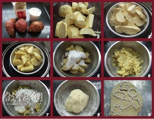 简单好吃的家常菜-蕃薯饼