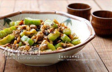 菌菇炒蔬菜木桶饭