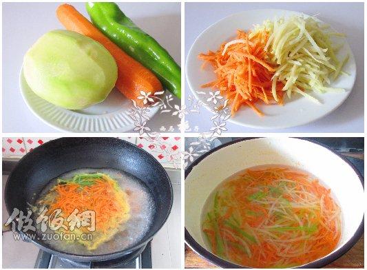 炝拌三丝如何做,怎么做,如何做 凉菜菜谱 -美味素食 炝拌三丝